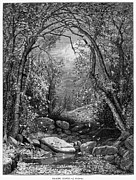 Jervis Framed Prints - Autumn, 1873 Framed Print by Granger