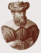 Persian Illustration Posters - Avicenna, Persian Polymath Poster by Science Source