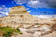 Unesco Photo Framed Prints - Badlands in Alberta Framed Print by Elena Elisseeva