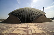 Baghdad, Iraq - A Great Dome Sits At 12 Print by Terry Moore