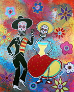 Mexican Paintings - Bailar by Pristine Cartera Turkus