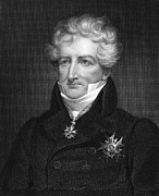 1833 Photo Posters - Baron Georges Cuvier Poster by Granger