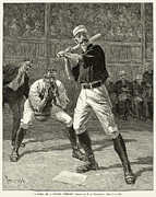 Spectator Prints - Baseball, 1888 Print by Granger