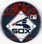 Baseball Button Print by Granger