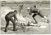 Baseball Game, 1885 Print by Granger