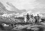 U.s Army Framed Prints - Battle Of Buena Vista, 1847 Framed Print by Granger