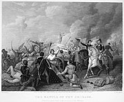 U.s. Army Art - Battle Of New Orleans by Granger