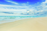 Bahamas Framed Prints - Beach Framed Print by MotHaiBaPhoto Prints