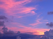 Boundless Prints - Beautiful Sky and Cloud Formation Print by Yali Shi