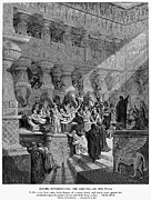 Belshazzar Photo Posters - Belshazzars Feast Poster by Granger