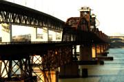 Wingsdomain Art and Photography - Benicia-Martinez Bridges Across The Carquinez Strait in California . 7D10425