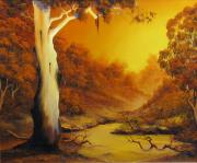 Landscapes Reliefs - Billabong by John Cocoris