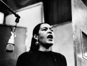 Microphone Metal Prints - Billie Holiday (1915-1959) Metal Print by Granger