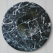 Recycled Reliefs - Black and White Zen  by William Lowrey
