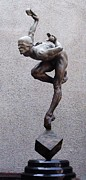 Athlete Sculptures - Blind Faith by Richard MacDonald