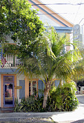 Key West Photographs Framed Prints - Blue Heaven Framed Print by Bob Slitzan