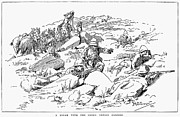 1899 Framed Prints - Boer War, 1899 Framed Print by Granger