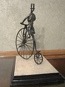 Bicycle Art Sculptures - Boneshaker by Mike Murphy