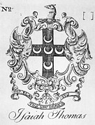 18th Century Photos - BOOKPLATE, 18th CENTURY by Granger