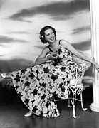 Flowered Dress Framed Prints - Born To Dance, Eleanor Powell, 1936 Framed Print by Everett