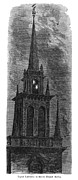 Old Christ Church Prints - Boston: Old North Church Print by Granger