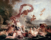 Aphrodite Paintings - Boucher: Venus by Granger