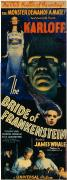 Bride Of Frankenstein Posters - Bride Of Frankenstein 1935 Poster by Granger