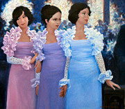 Find Prints - Brides Maids Print by Kevin Lawrence Leveque