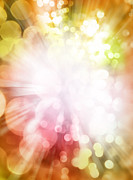 Explosion Photo Posters - Bright background Poster by Les Cunliffe
