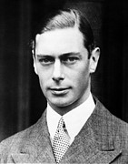 Vi Acrylic Prints - British Royalty. King George Vi Acrylic Print by Everett