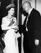 Evening Gown Photos - British Royalty. Queen Elizabeth Ii by Everett
