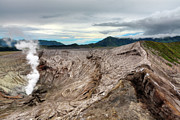 Volcano Prints - Bromo crater Print by MotHaiBaPhoto Prints
