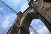 Frank Romeo Metal Prints - Brooklyn Bridge - New York City Metal Print by Frank Romeo