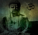 Buddha Digital Art Posters - Buddha Poster by Mike Grubb