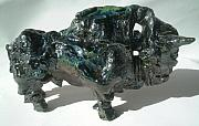 Goat Ceramics Originals - Bull by Dimitri Lazaroff