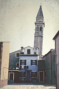 Church Tower Prints - Burano Print by Joana Kruse