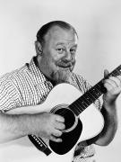 Guitarist Posters - Burl Ives (1909-1995) Poster by Granger