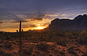 The Superstitions Photos - By Dawns Early Light by Saija  Lehtonen