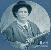M J Posters - Calamity Jane, American Frontierswoman Poster by Photo Researchers