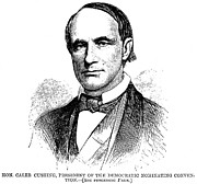 Caleb Prints - Caleb Cushing (1800-1879) Print by Granger