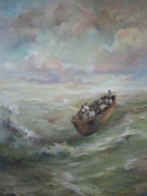 Storm Paintings - Calming the storm by Tigran Ghulyan