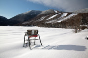 Tourists Attraction Prints - Cannon Mountain - White Mountains New Hampshire USA Print by Erin Paul Donovan