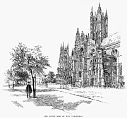 Canterbury Cathedral Print by Granger