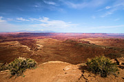Southwest Landscape Metal Prints - Canyonlands Buck Canyon Overlook Metal Print by Adam Jewell