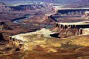 Canyonland Prints - Canyonlands Green River Overview  Print by Paul Cannon
