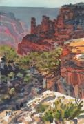 Canyon Paintings - Cape Royal by Donald Maier