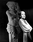Statue Portrait Prints - Carole Lombard In The 1930s Print by Everett