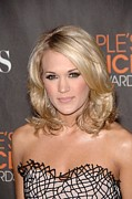 At Arrivals Prints - Carrie Underwood At Arrivals Print by Everett
