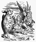 Tenniel Posters - Carroll: Alice, 1865 Poster by Granger