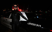 Superhero Photos - Catwoman Batman The Dark Knight Rises Newark New Jersey Premiere Event  by Lee Dos Santos
